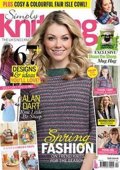 Ravelry: Simply Knitting 131, April 2015