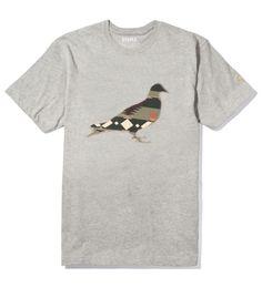 Staple Heather Grey Navajo Pigeon T-Shirt