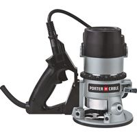 The Porter-Cable HP 27500 RPM D-Handle Router comes with precision machined aluminum motor housing and base. It allows for single hand gripping and enhanced router control. Woodworking Saws, Antique Woodworking Tools, Woodworking Store, Woodworking Ideas, Grizzly Woodworking, Woodworking Basics, Woodworking Supplies, Woodworking Classes, Woodworking Furniture