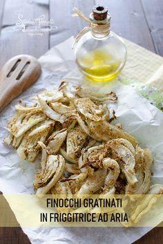 Air Fryer Recipes, Fett, Chicken Wings, Slow Cooker, Almond, Stuffed Mushrooms, Food And Drink, Vegan, Vegetables