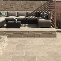 Sleek and stylish Vetusto available in Bradstones NEW 2017 brochure Bradstone Paving, Block Paving, Driveway Blocks, Outdoor Furniture, Outdoor Decor, Household, Exterior, Couch, Stylish