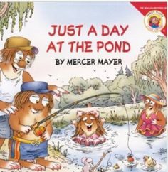 Just a day at the Pond Mercer Mayer FB page