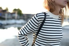 Stripes are always in.