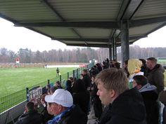 Fans des SV Babelsberg 03 in Rathenow