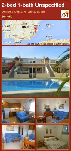 Unspecified for Sale in Orihuela Costa, Alicante, Spain with 2 bedrooms, 1 bathroom - A Spanish Life Apartments For Sale, Murcia, Valencia, American Kitchen, Alicante Spain, Built In Wardrobe, Double Bedroom, Gated Community, Quarto De Casal