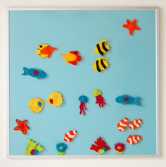 Felt Aquarium Magnets (Tutorial)