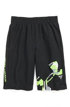 Under Armour 'Power Up' HeatGear® Shorts (Little Boys) | Nordstrom