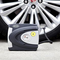 Analogue Car Tyre Inflator 12Volt Portable Universal Automatic Air Compresson #AnalogueCarTyreInflators