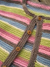2019 Modell Ravelry: Project Gallery for Easy Garter Stitch Cardigan pattern by Debbie Bliss Baby Cardigan Knitting Pattern Free, Kids Knitting Patterns, Cardigan Pattern, Knitting For Kids, Knitting Stitches, Baby Patterns, Sock Knitting, Sweater Patterns, Knitting Tutorials