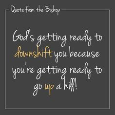 Quote Bishop Dale C. Bronner!