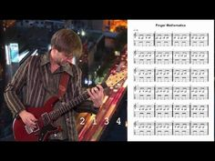 Guitar Exercise: Finger Mathematics by Guitar Lovers - YouTube