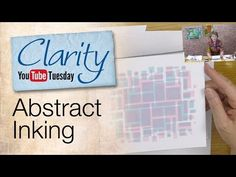 Gelli Plate How To - Abstract Stencil Inking. - This week Barbara shows us how to use ink pads with a Gelli Plate, and how colours can be overlaid. Clarity Card, Barbara Gray, Gelli Plate Printing, Plate Art, Card Making Techniques, Ink Pads, Distress Ink, Clear Stamps, Craft Videos