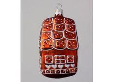 Vánoční ozdoba perníková chaloupka hnědá F 109 Christmas Ornaments, Holiday Decor, Xmas Ornaments, Christmas Jewelry, Christmas Baubles