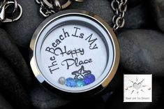 Floating Charm Locket  Custom  Personalized by HeartAndSolDesigns, $47.00
