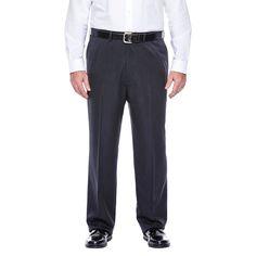Haggar H26 - Men's Big & Tall Classic Fit Performance Pants