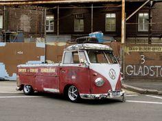 VW Bus Pickup. Classic!