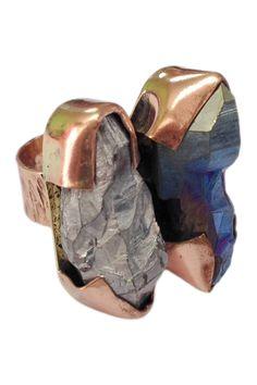 Duo Crystal Ring