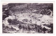 No.1 mining camp along Chemainus River, Vancouver Island, B.C.