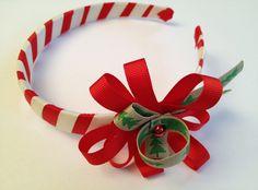 Christmas hairband-Poupée