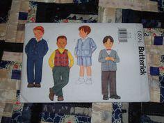 GOT THIS Butterick Pattern 6894 for Boys Jacket Vest Shorts