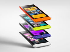 Personalize your Windows Phone 8S by getting any one of 4 bold colors.