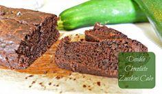Double The Fun: Double Chocolate Zucchini Cake Recipe Vegan Recipes Easy, My Recipes, Cake Recipes, Vegetarian Recipes, Vegan Muffins, Zucchini Cake, Frozen Desserts, Freeze, Breakfast Recipes