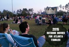 Free Outdoor Movies - Atlanta Canton, Woodstock Alpharetta Cumming Dawsonville Georiga.   Movies In The Park ™ features Hollywood blockbuster films shown under the stars in unique and historic locations.  Family flicks will be started before dark and be shown on a huge inflatable movie screen.  Sponsored by Northside Hospital and Southern Outdoor Cinema.