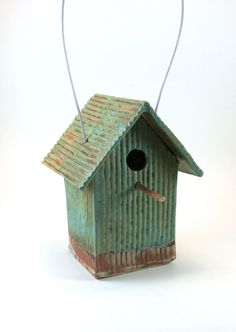Pottery Bird House