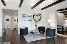 A very charming and stylish loft in Sweden