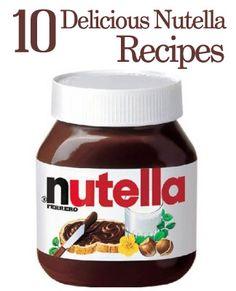 10 Delicious Nutella Recipes