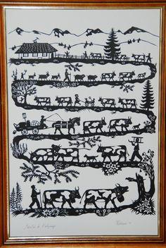 ❁❀Epinglé par CM ❃✿Veau, vaches, cochon, couvée,... - Au gré de la plume