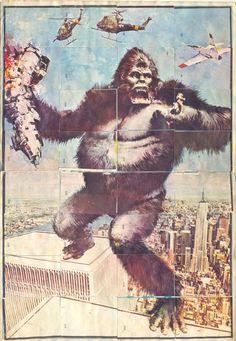 (1) Kiosko del Tiempo (@kioskodeltiempo) | Twitter King Kong, Monkey, Twitter, Painting, Art, Picture Cards, Craft Art, Playsuit, Paintings