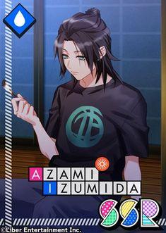 Azami Izumida: An Autumn Night on the Verandah Anime Guy Long Hair, Anime Black Hair, Anime Guys, Hot Anime, Japanese Games, Zero Two, Best Husband, Hisoka, Cool Girl