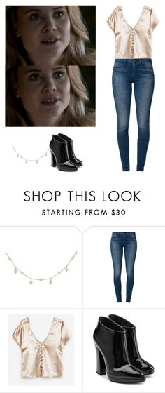 """""""Camille O'connel - The originals"""" by shadyannon ❤ liked on Polyvore featuring Luna Skye, Levi's and Giuseppe Zanotti"""