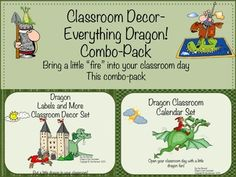 """Bring a little """"Fire"""" into every school day with this combo-pack filled with everything you need to """"heat-up"""" your school day! Save $ by buying both products in the combo pack! Also available separately...$"""