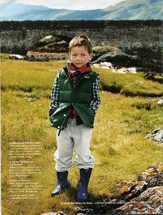 Oh, I love this look for my little men... especially reminds me of Ian!