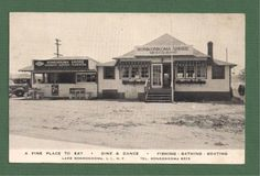Ronkonkoma Shore Long Island New York Postcard