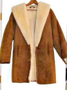 Vintage Sawyer of Napa Womens Sherling Coat by passagesvintage, $225.00