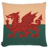 Hand Made Welsh Flag Cushion - On sale this month! Wales Flag, Welsh Gifts, Saint David's Day, Welsh Rugby, Rugby World Cup, Soft Furnishings, Moose Art, Cushions, Creative