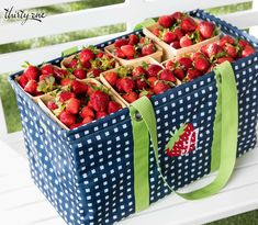 Thirty-One Gifts – Strawberry fields and Large Utility Totes forever! Thirty One Outlet, Thirty One Purses, My Thirty One, Thirty One Gifts, 31 Gifts, Strawberry Picking, Strawberry Fields, Large Utility Tote, 31 Bags
