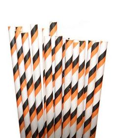 No matter what you serve, these striped paper straws will add a festive touch to any yummy cocktail.