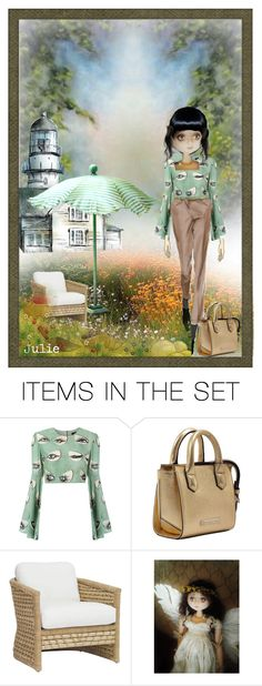 """""""holidays at  the lighthouse"""" by julidrops ❤ liked on Polyvore featuring art"""