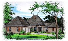 European   House Plan 60288