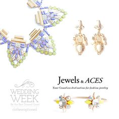 Wedding Week: Jewels and Aces Prize  You could win the jewellery shown in this photo! Enter now at clothes-captioned.com/weddingweek