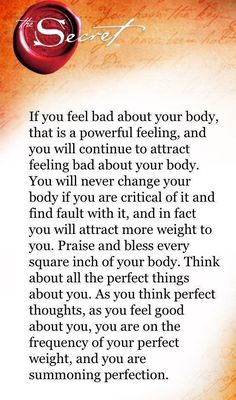 Positive Body Image, Positive Thoughts, Positive Quotes, Secret Law Of Attraction, Law Of Attraction Quotes, The Embrace, This Is Your Life, Secret Quotes, The Secret Book