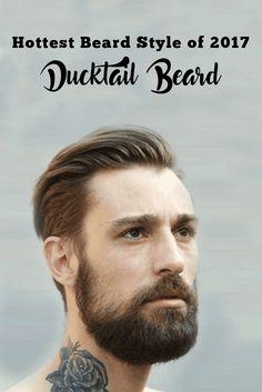 Hottest Beard Style of 2016 – Ducktail Beard