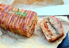 mleté maso ve slaninovém kabátku