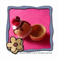 Creative Crochet Workshop: Mini Cake Gift Box