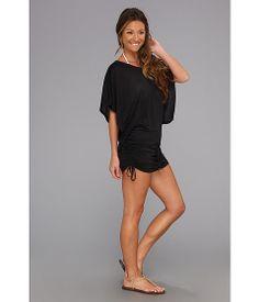 Luli Fama Cosita Buena South Beach Dress Cover-Up Black - Zappos.com Free Shipping BOTH Ways