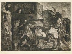 """""""La Minotauromachie"""" 1935 par Pablo Picasso (1881-1973)"""